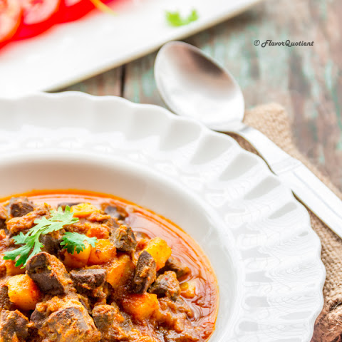 Spicy Lamb Liver Curry