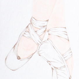 Pointe by Jo Soule - Drawing All Drawing ( grace, ballet, pointe )
