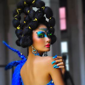 Blue Sea by Erlangga Sen - People Fashion