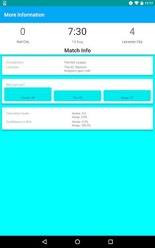 Soccer Predictions (Ad-) - screenshot