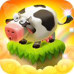 Cube Farm 3D: Skyland Craft Apk