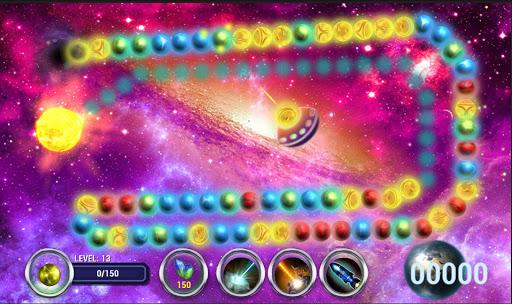 Planet Zum. Balls Line - screenshot