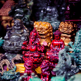 Gods on the Street by Madhujith Venkatakrishna - Artistic Objects Other Objects