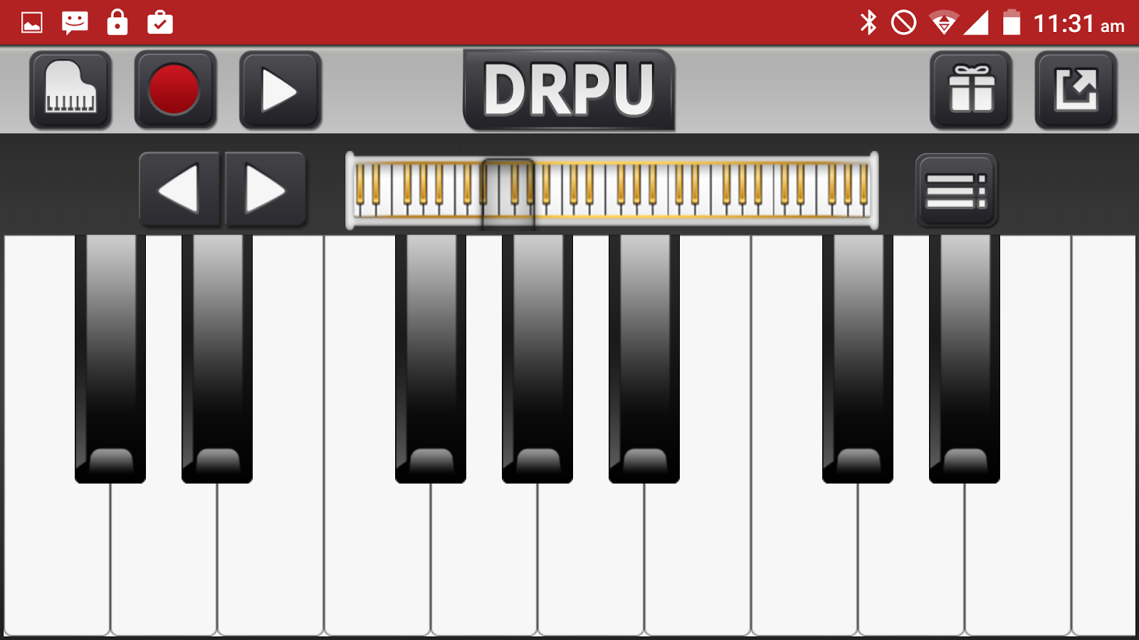 Piano Keyboard Music Pro Screenshot 7