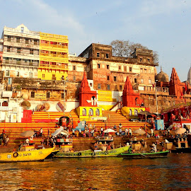Beautiful Morning Of Varanasi by Debjit Dutta - City,  Street & Park  Historic Districts