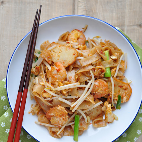 Char Kway Teow/炒粿條/Fried Flat Rice Noodles