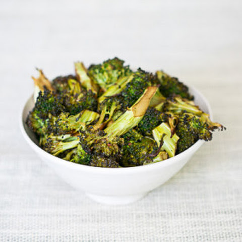 Roasted Balsamic Garlic Broccoli