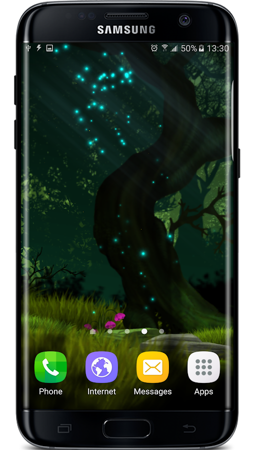 Firefly Forest Live Wallpaper Screenshot 6