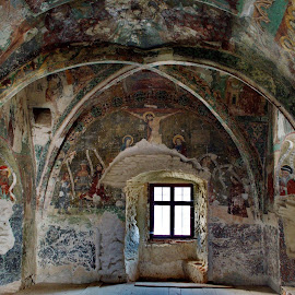 Ancient Chapel  by Irina-Carmen Brinza - Buildings & Architecture Decaying & Abandoned ( religion, church, chapel, painting )