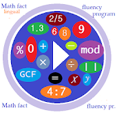 Math Fluency Practice :tablet