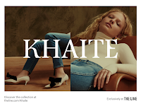 Wild posting campaign for the launch of Khaite, a new collection under Assembled Brands.