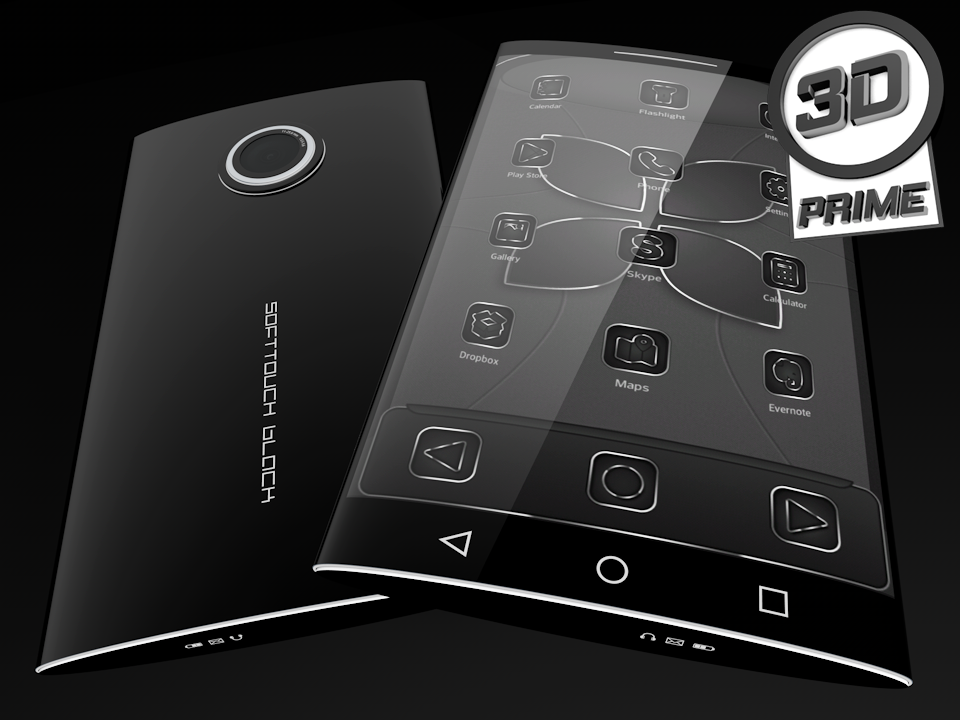 SoftTouch Black - Next Theme Screenshot 2