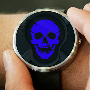 Watch Face - Elegant Skull - screenshot