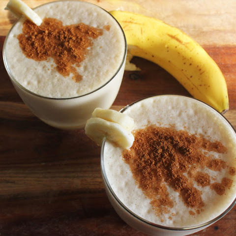 Cinnamon Chai Tea Banana Smoothie
