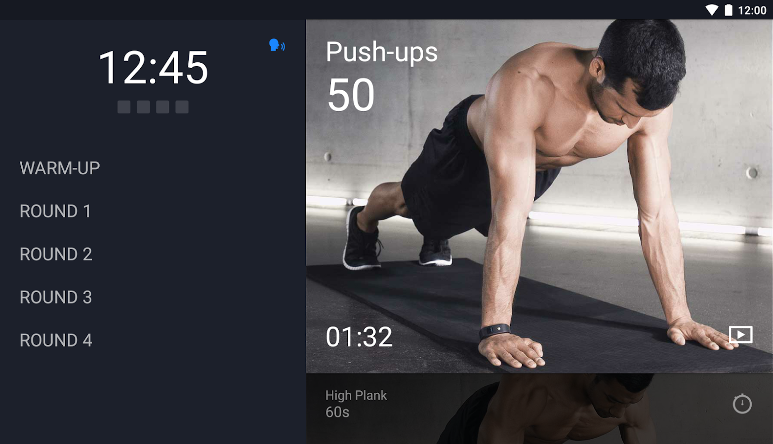 Runtastic Results Workout App Screenshot 9