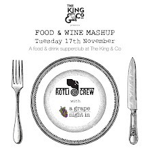 Food & Wine Pairing with Rotli Crew & A Grape Night In