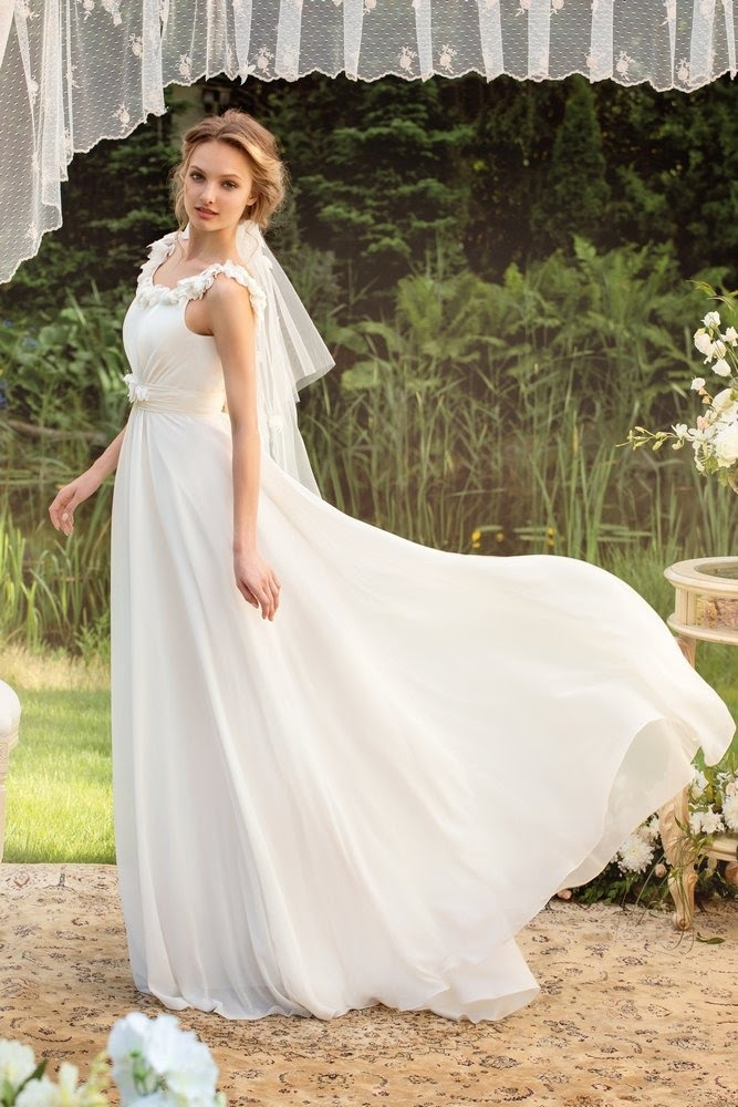 Фото невест в вечерних платьях