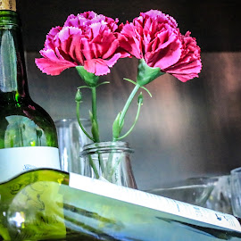 Sip Or Drink by Meeta Thakur - Food & Drink Alcohol & Drinks ( wine, arrangement, drinks, flower, colours )