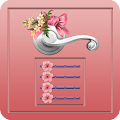 Flower Door Lock - Screen Lock APK for Bluestacks