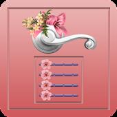 Flower Door Lock - Screen Lock APK for Bluestacks