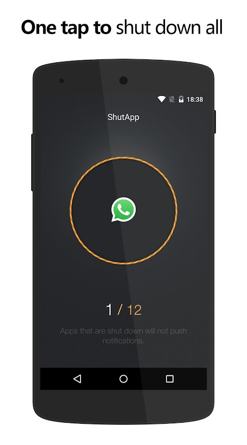 ShutApp - Real Battery Saver Screenshot 2