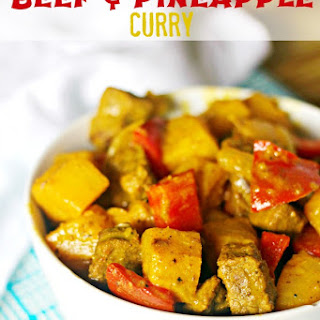 Beef and Pineapple Curry