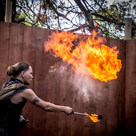 by Jackie Eatinger - Abstract Fire & Fireworks ( ren fest, yasmin )
