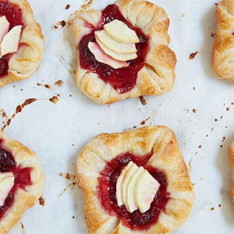 Cranberry Apple Danish