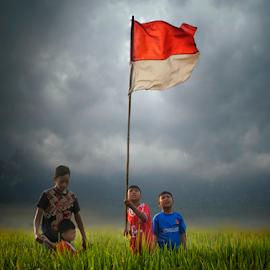 indonesian childern by Ahmad Sahroni - Babies & Children Children Candids