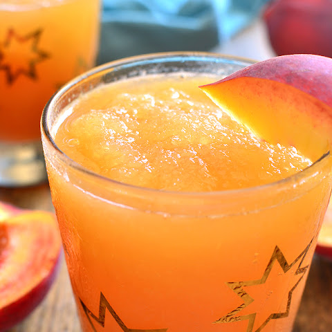 Frozen Peach Slush