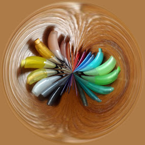 by Colleen Legree - Abstract Fine Art ( abstract, circular, colors, fine art, rainbow )