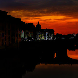 Florence by Carlo Gulin - City,  Street & Park  Skylines ( florence, firenze )