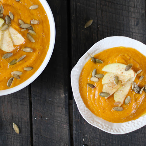 Creamy Butternut Squash and Apple Soup
