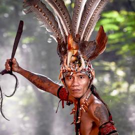 Pendekar Jagou by Doeh Namaku - People Portraits of Men