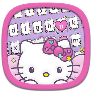 Hello Kitty Keyboard Theme for PC-Windows 7,8,10 and Mac