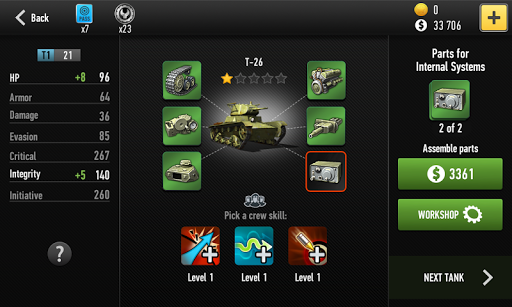 War of Tanks 2 Strategy RPG - screenshot