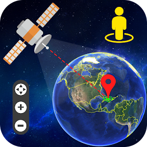 Live Earth Map & Satellite View, GPS Tracking For PC