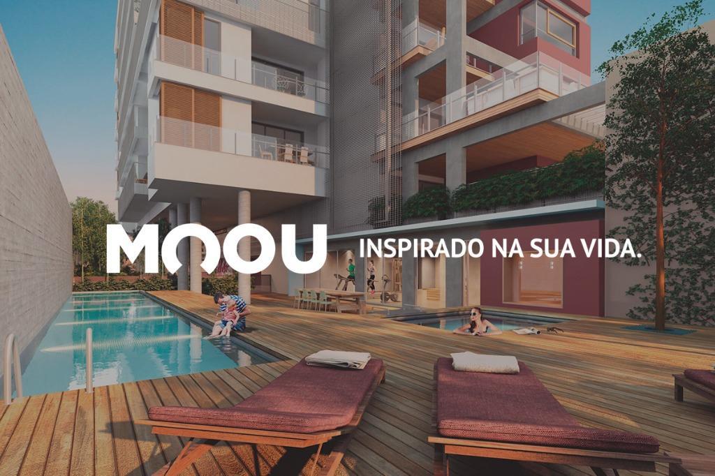 Loft com 1 dormitório à venda, 52 m² por R$ 699.508 - Pinhei
