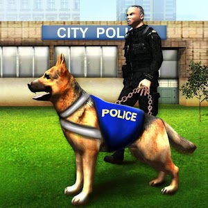 Airport Police Dog Crime Chase