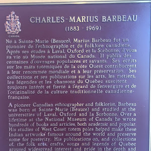 A pioneer Canadian ethnographer and folklorist, Barbeau was born at Sainte-Marie (Beauce) and studied at the universities of Laval, Oxford and la Sorbonne. Over a lifetime at the National Museum of ...