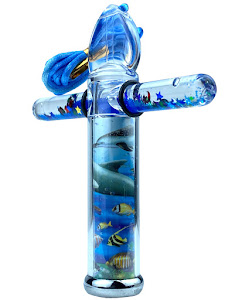 Калейдоскоп New подвеска, синий