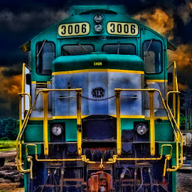The 3008 by John Zyrlis - Transportation Trains ( old, engine, rail, train, abandoned )