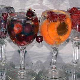fruits in the glass by LADOCKi Elvira - Food & Drink Fruits & Vegetables