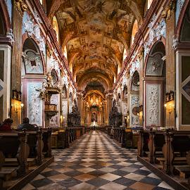 Velehrad,Ceska Republika by Stanley P. - Buildings & Architecture Places of Worship