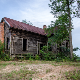 Old House in Red Level, AL by Trey Walker - Novices Only Objects & Still Life ( old, nikon, abandon, rustic, abandoned )