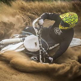 How about some dust? by Kjell Kasin - Sports & Fitness Motorsports ( sweden, motocross, dirtbike, dust, summer, mx, nikon, enduro, tamron )