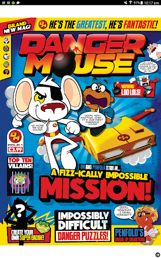 Danger Mouse Magazine - screenshot