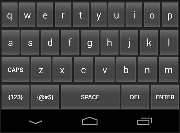 Numeric Keyboard Screenshot 1