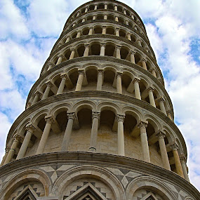 Pisa Tower by Giancarlo Ferraro - Buildings & Architecture Public & Historical ( leaning, tower, bell tower, belfry )