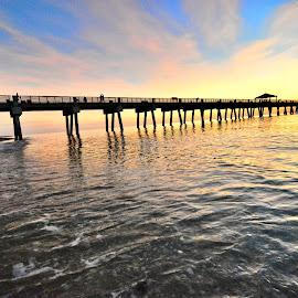 Florida Pier by Travis Houston - Buildings & Architecture Bridges & Suspended Structures